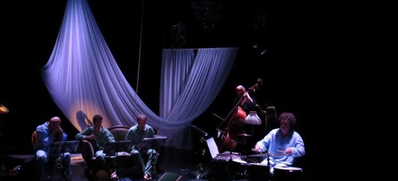 Musiciens de chambre en scène...