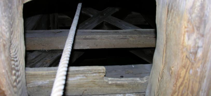 En montant dans le clocher de Boveresse...