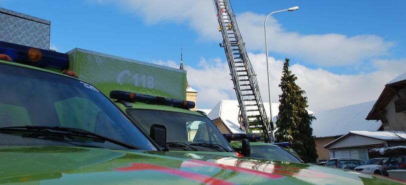 Le Centre de secours de l'Entre-Deux Lacs se mobilise pour le Téléthon depuis 14 ans.