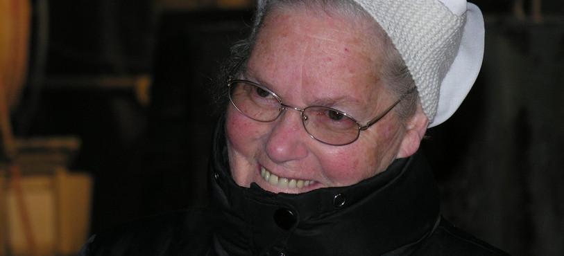 Soeur Odette, lauréate du Prix citoyen
