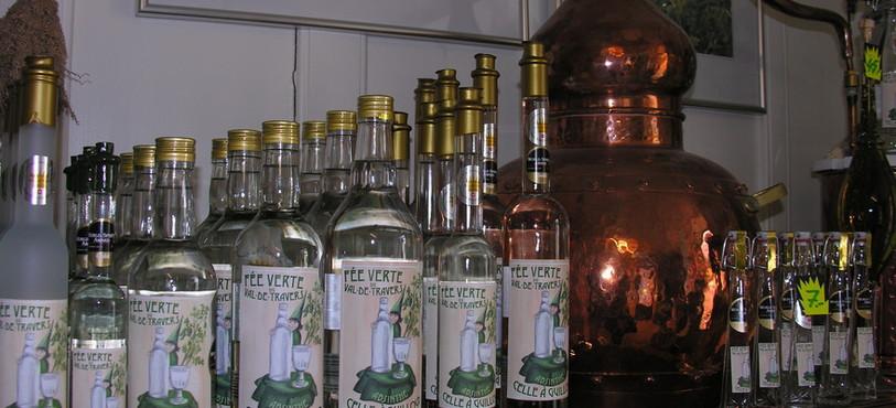 L'absinthe Celle à Guilloud est la même que celle produite pendant la période de clandestinité.