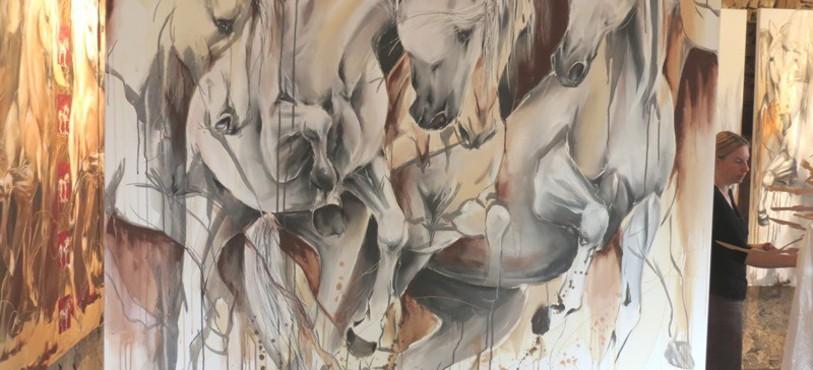Des traits pour définir la passion du cheval.