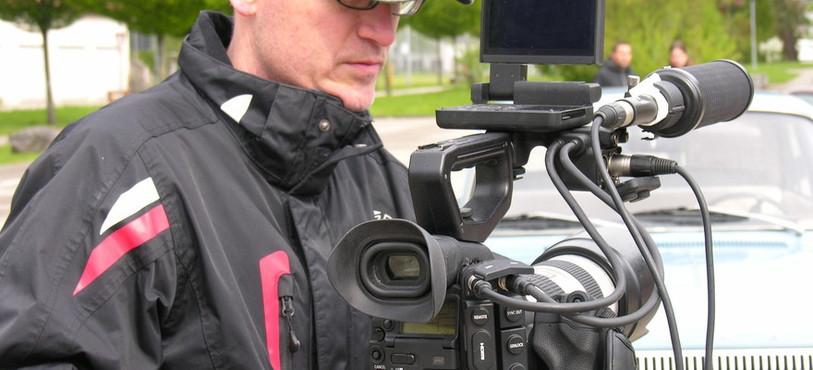 Concentration de mise pendant le tournage du clip.