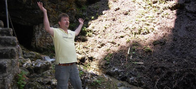 La partie supérieure des Gorges de la Poëta-Raisse.