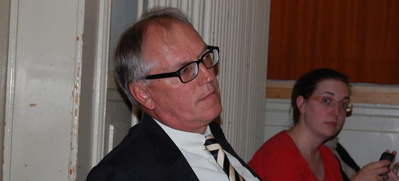 Thomas Borer a suivi la séance du Conseil général de Val-de-Travers pour le compte de Celtique Energie.