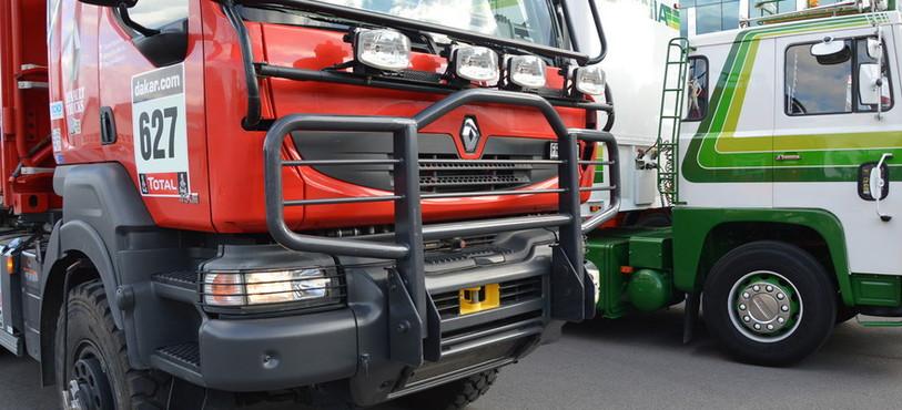 Ce camion a fait le Dakar au Chili et en Argentine cette année.