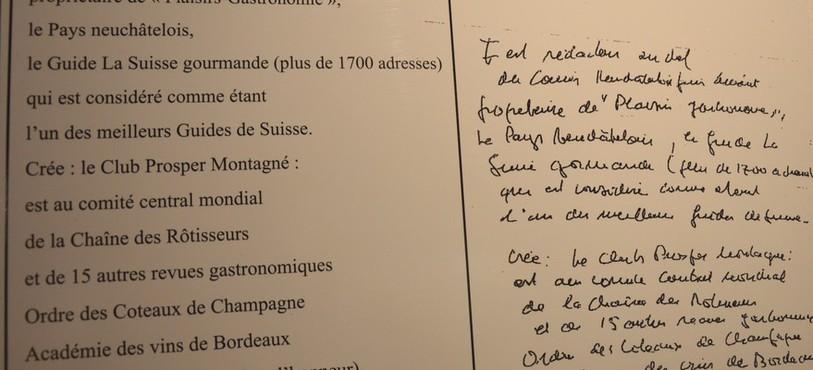 Un extrait de l'autobiographie de René Gessler retranscrite par son ami historien Jean-Pierre Jelmini.