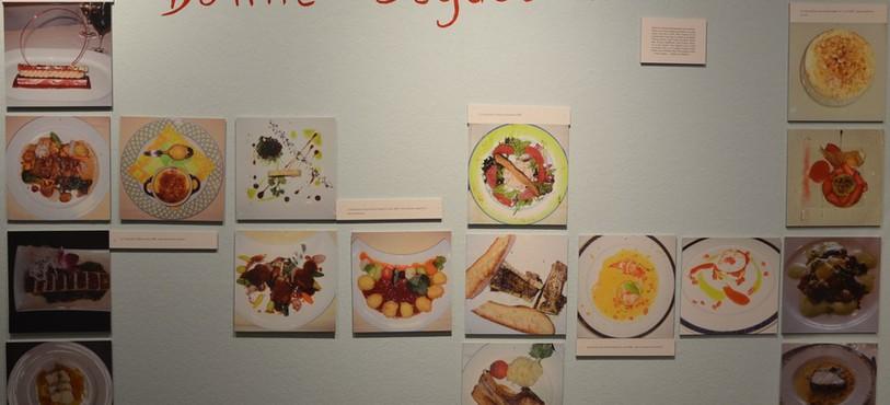 Des plats de gastronomes reconnus par René Gessler.