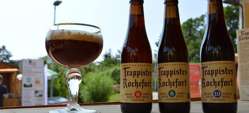 La bière de Rochefort (B).