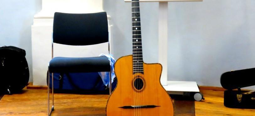 La guitare à Ludo