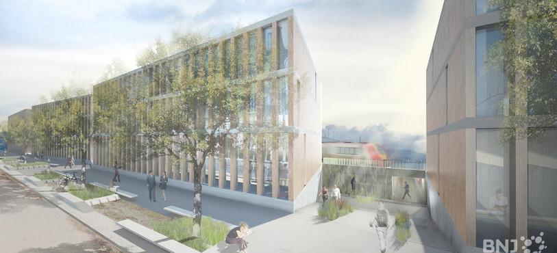 Campus Delémont (photo: bureau Ipas)