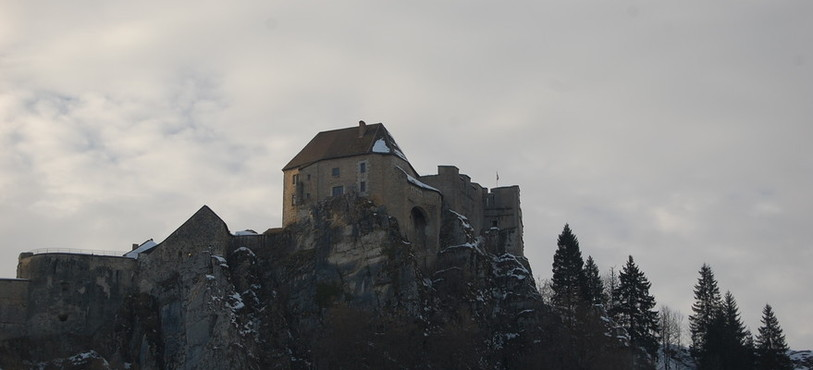 La présentation du Guide du Routard du Jura franco-suisse a eu lieu au fort de Joux.