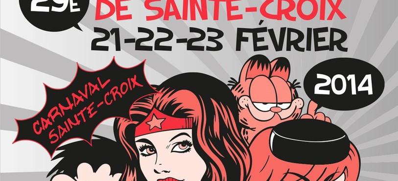 L'affiche du carnaval de Sainte-Croix.