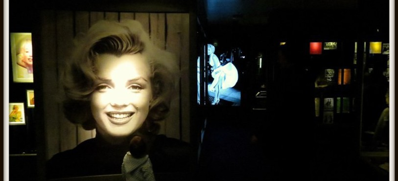 Visage Marilyn dans exposition