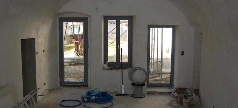 Le laboratoire permettra d'accéder au jardin.