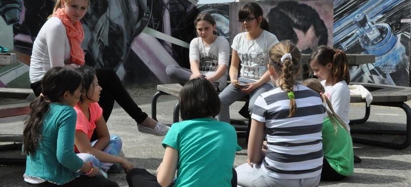 Activités au centre de loisirs de Neuchâtel