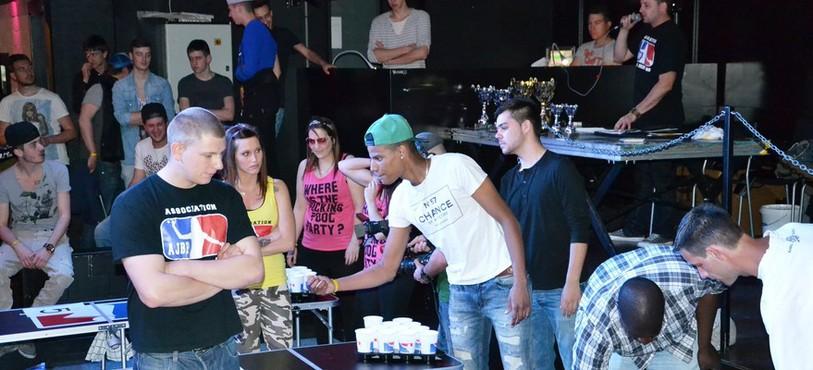 Championnat jurassien de Beer Pong 2014