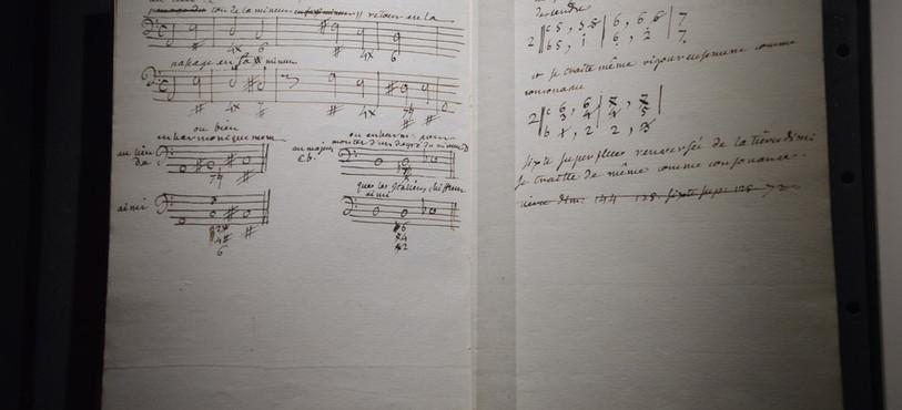 Jean-Jacques Rousseau était aussi compositeur.