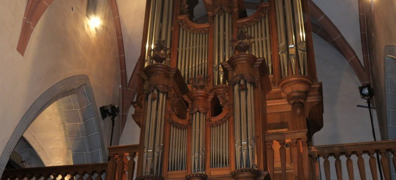 Orgue de St-Pierre à Porrentruy