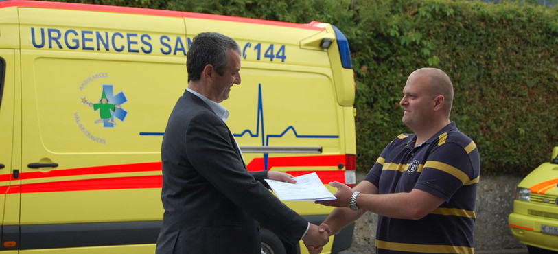 Le service des ambulances du Val-de-Travers a obtenu le renouvellement de la certification IAS.