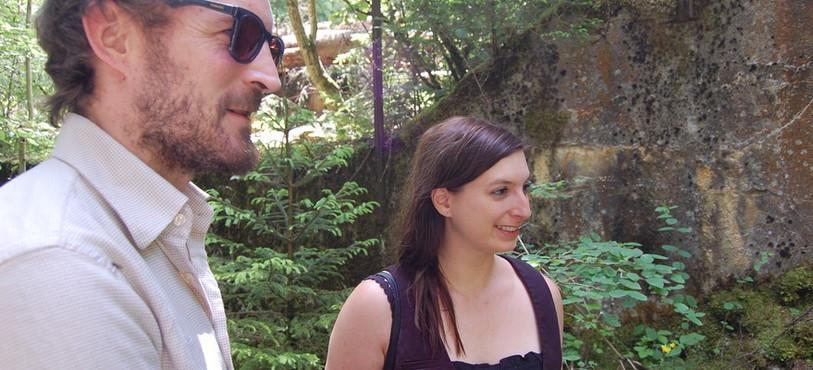 Jonathan Delachaux et Zoé Cappon
