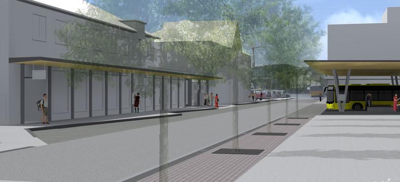 Future gare routière de Delémont