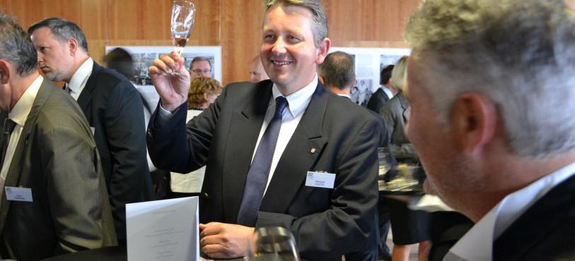 Raymond Clottu, conseiller national neuchâtelois.