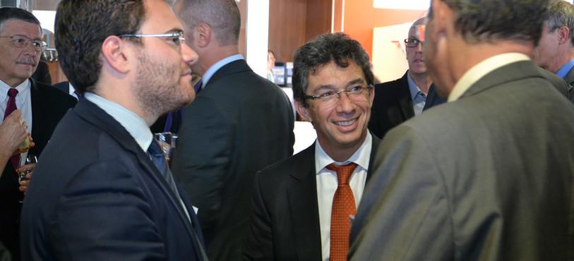 Le PDG de Philip Morris, André Calantzopoulos.