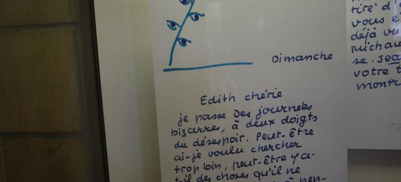 Une lettre de Jean Paulhan à Edith Boissonnas.