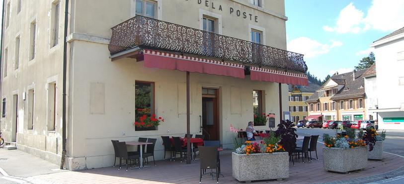 L'Hôtel de la Poste à Fleurier.