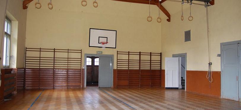 La salle de gymnastique des Verrières.