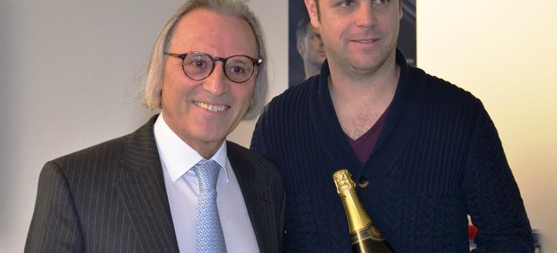 Alain Spinedi (le CEO de Louis Erard) et Severin Lüthi