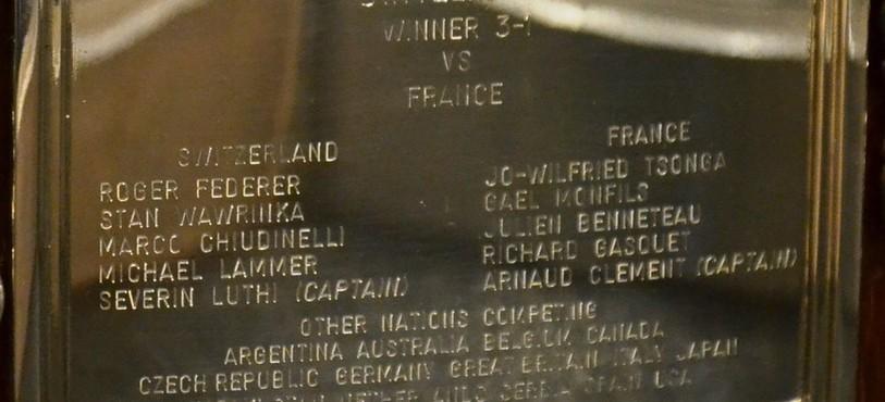 Les noms des champions