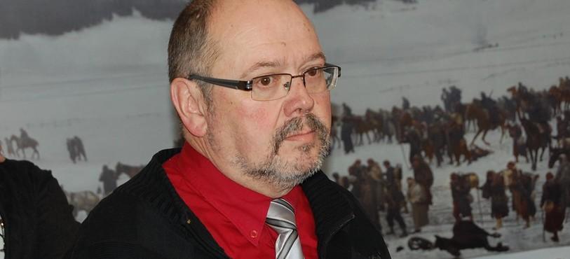 Alexis Boillat, président de l'Association Bourbaki Les Verrières.