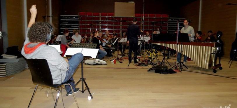 Alain Tissot et l'orchestre de chambre jurassien