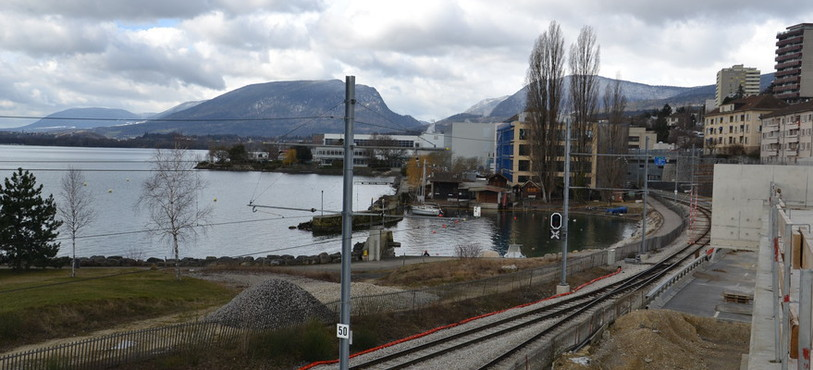 Les voies du tram seront redéplacées