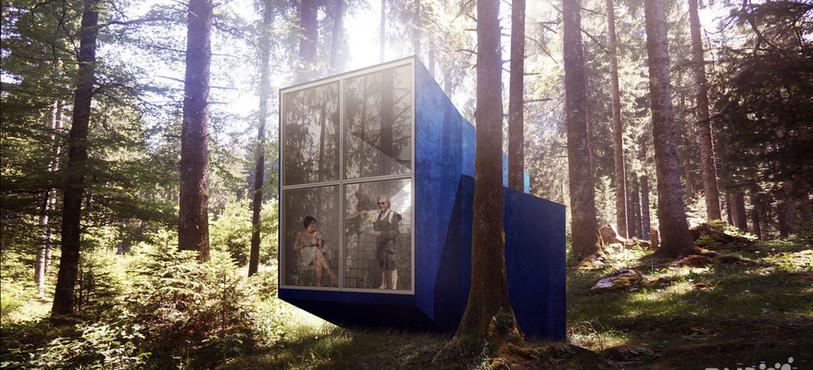 Le projet de Architectural Farm (IR) , Anonymous (USA), Loïc Picquet Atelier (F) et BXBstudio Boguslaw