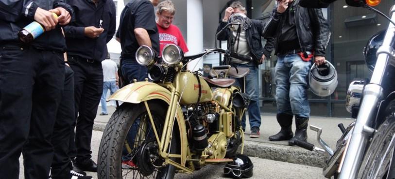 Journée Harley Davidson à Delémont