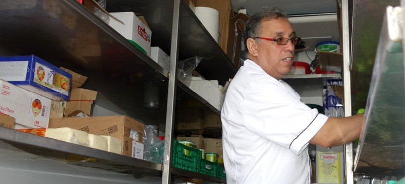 KNIE 2015 La cuisine de Nour Eddine Oulouda