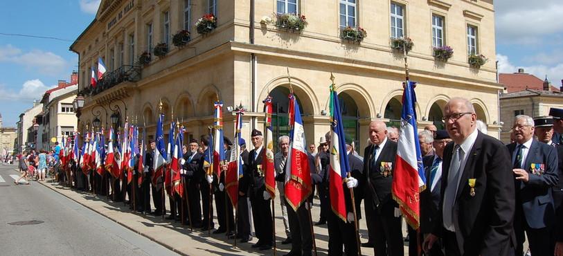 Les drapeaux de sortie