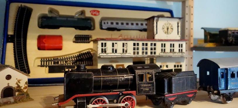 Musée du Jouet - Fahy - Train électrique