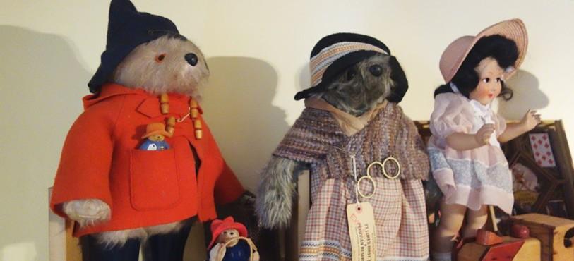 Musée du Jouet - Fahy - L'ours Paddington