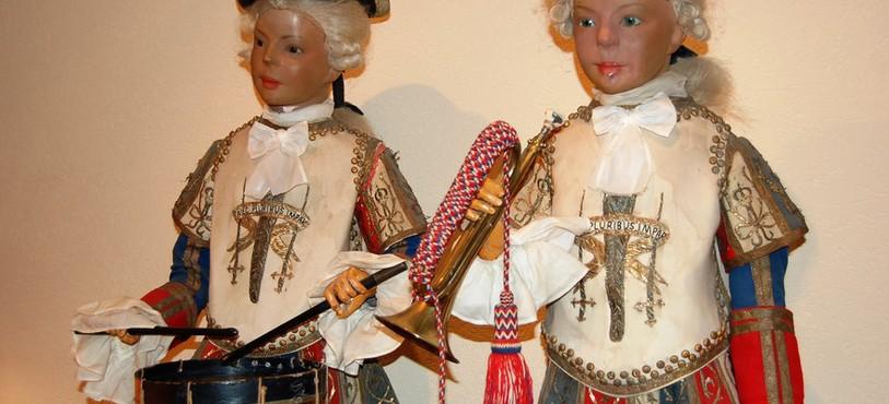 Une des pièces du Musée Baud à L'Auberson.