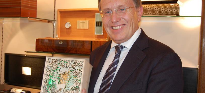 Kurt Kupper, directeur de l'entreprise Reuge.