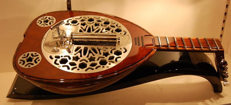Une boîte à musique particulière de Reuge.