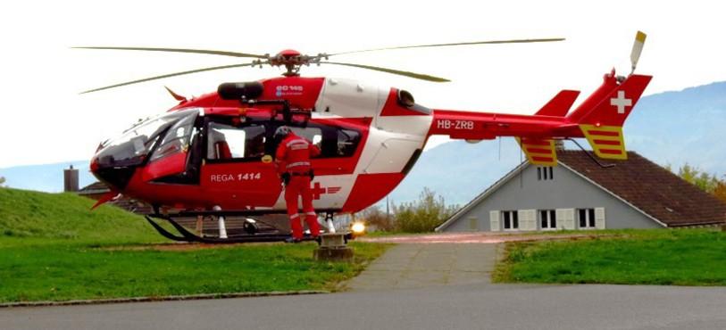Eurocopter EC 145 à Delémont