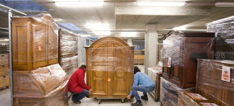 Réserve du Musée jurassien (photo ©Pierre Montavon)
