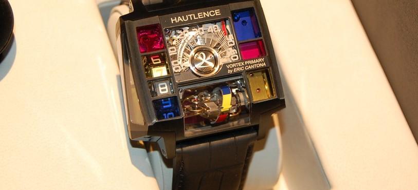 Une montre Hautlence, développée en partenariat avec Eric Cantona.