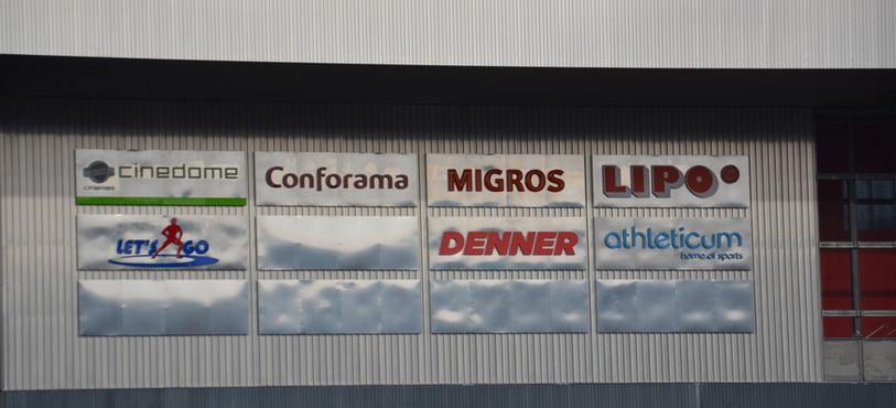 Les magasins se font attendre à la Tissot Arena