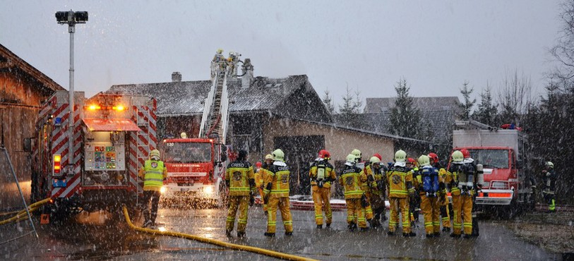 Incendie à Courroux